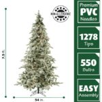 Lowes Pre Lite 7.5 Flicked White Valley Pine