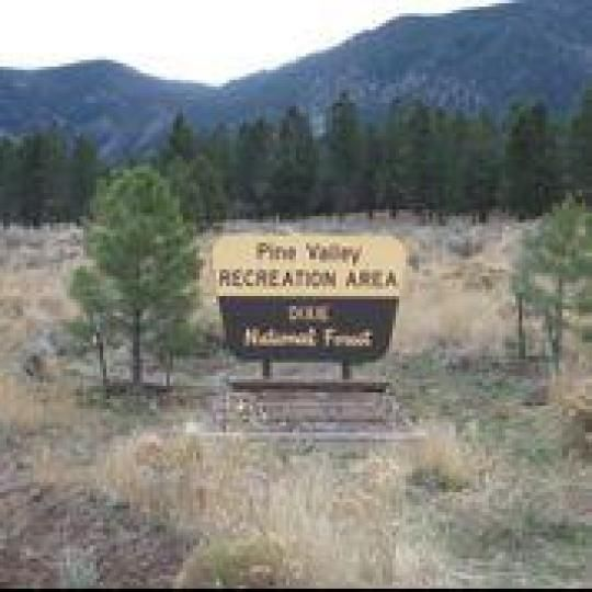 Pine Valley Recreation Area is located in scenic Pine ...