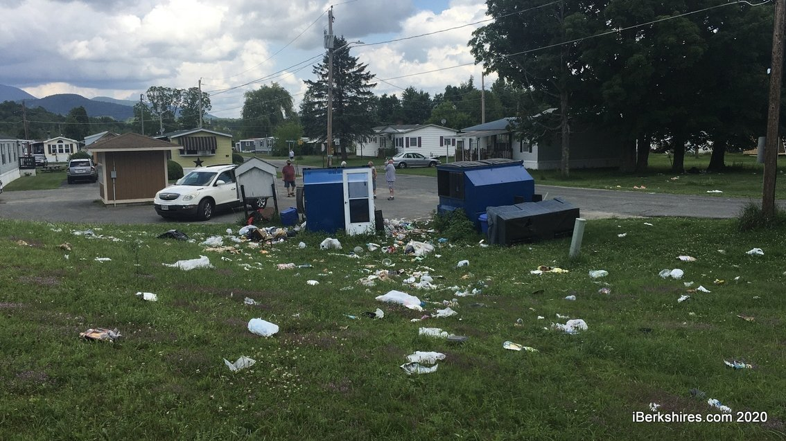 Residents of Pine Valley Fed Up With Garbage Mess ...