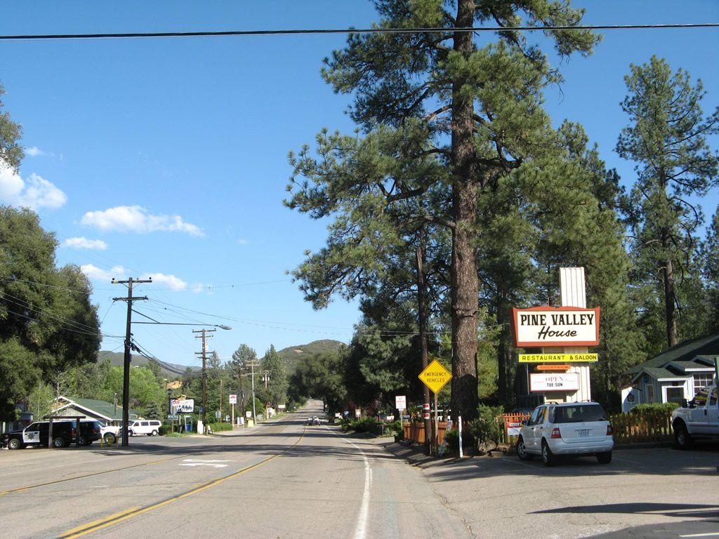 Pine Valley California - Historic U.S. Highway 80 East ...
