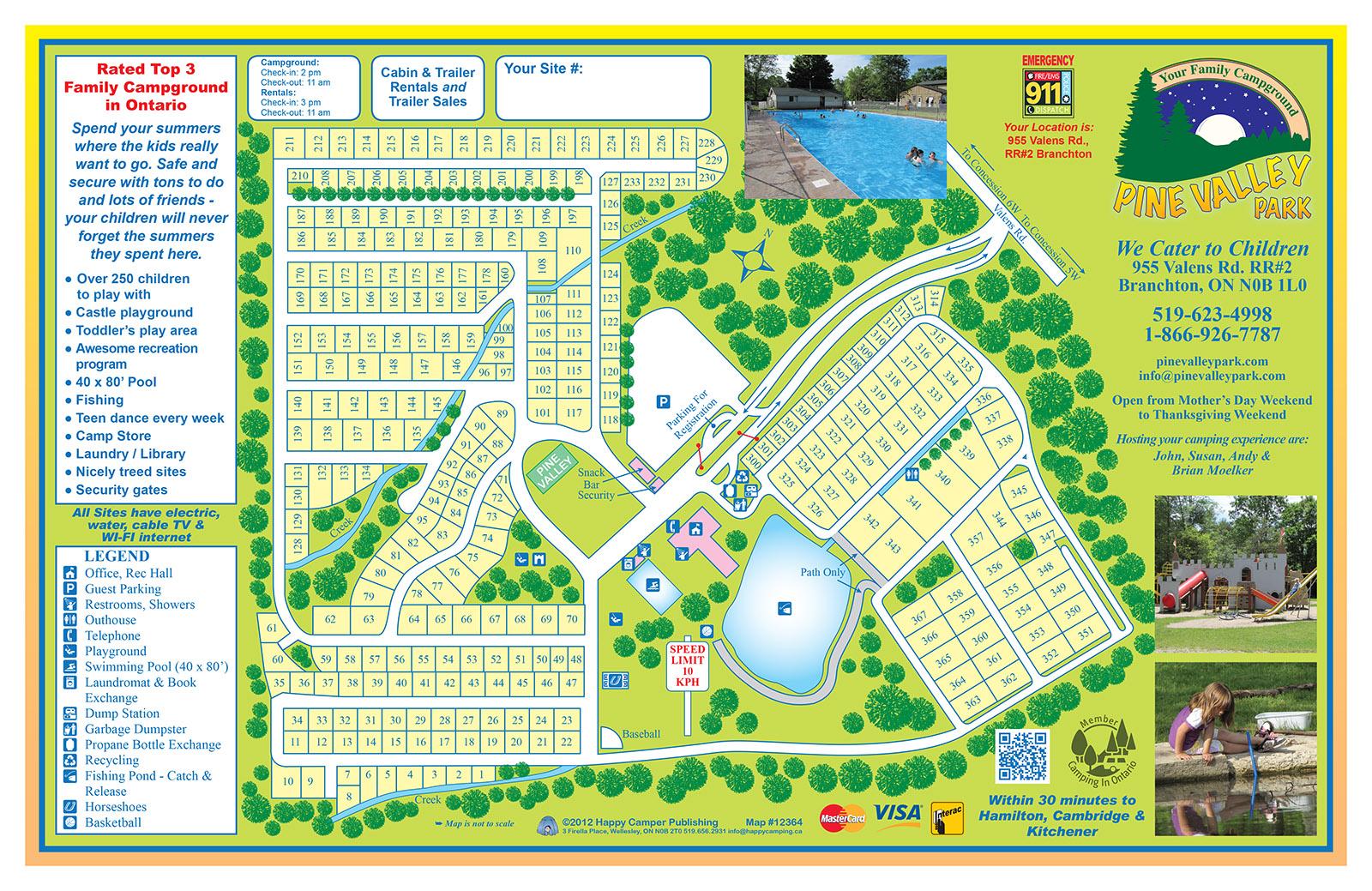 PARK MAP - Pinevalley Park