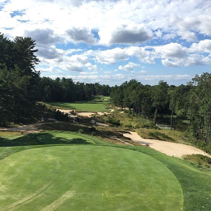 Friday Vibes 😎 - The daunting 18th at Pine Valley Golf ...