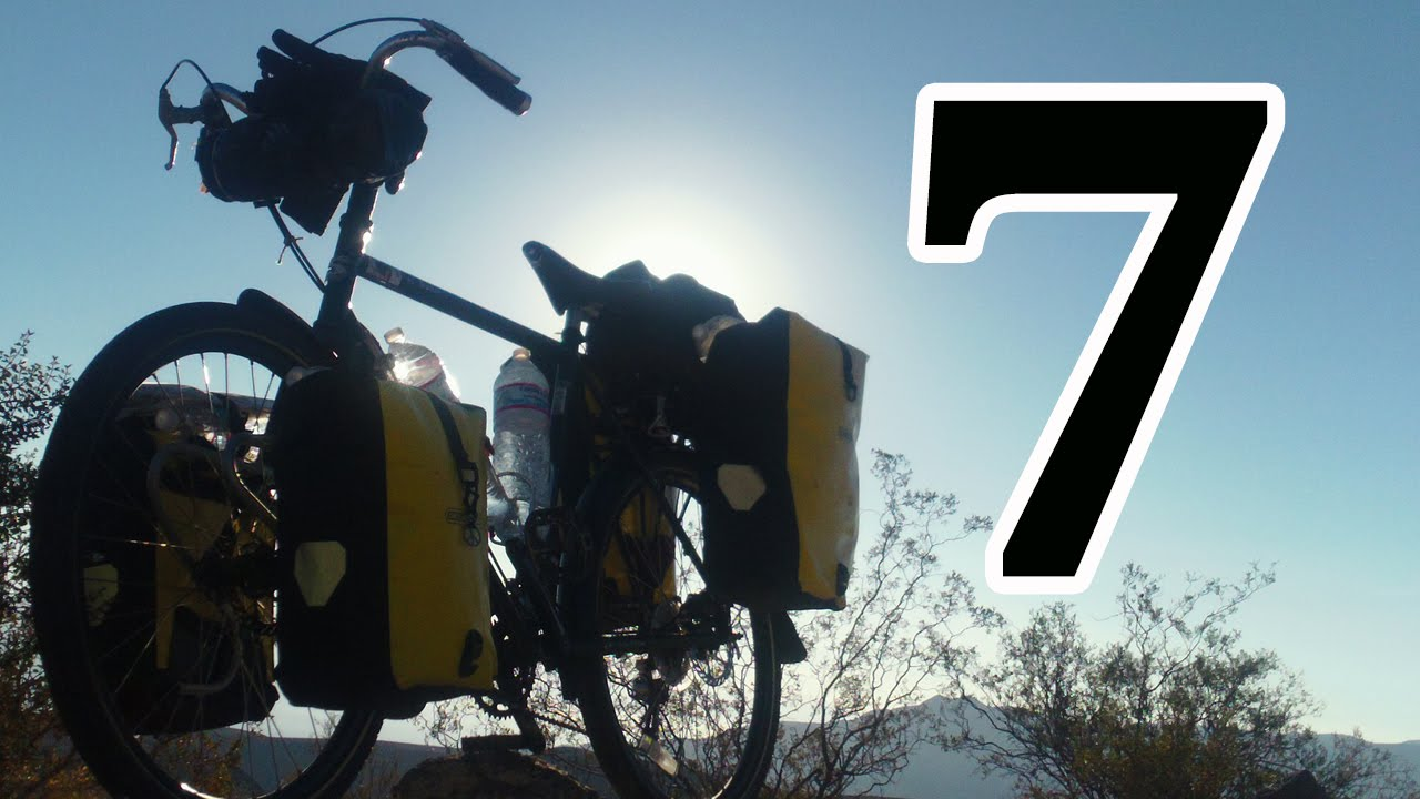 bicycle touring Lone Pine CA To Death Valley National Park ...