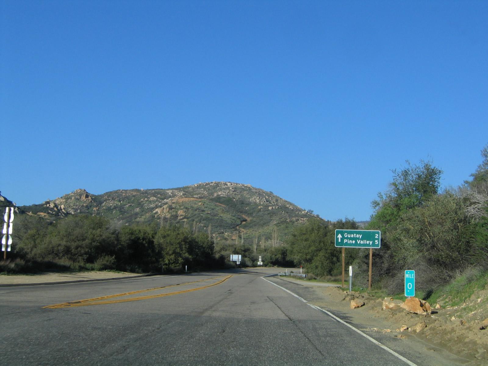 California @ AARoads - Historic U.S. 80 East - Descanso to ...