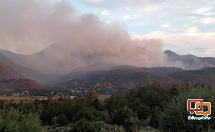 Saddle Fire moving toward Pine Valley, officials ...