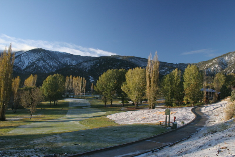 Pine Mountain Club, CA : Overlooking the golf course photo ...