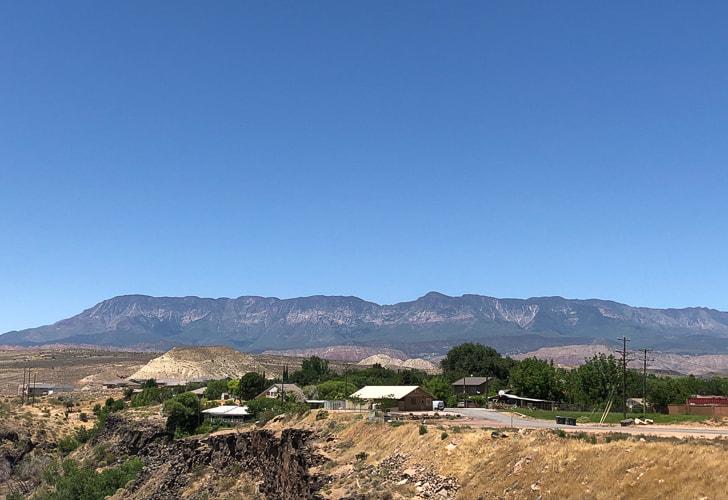 Burger Peak: 10,320' - Pine Valley Mountain Wilderness ...