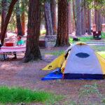 Upper Pines Ca Yosemite Valley