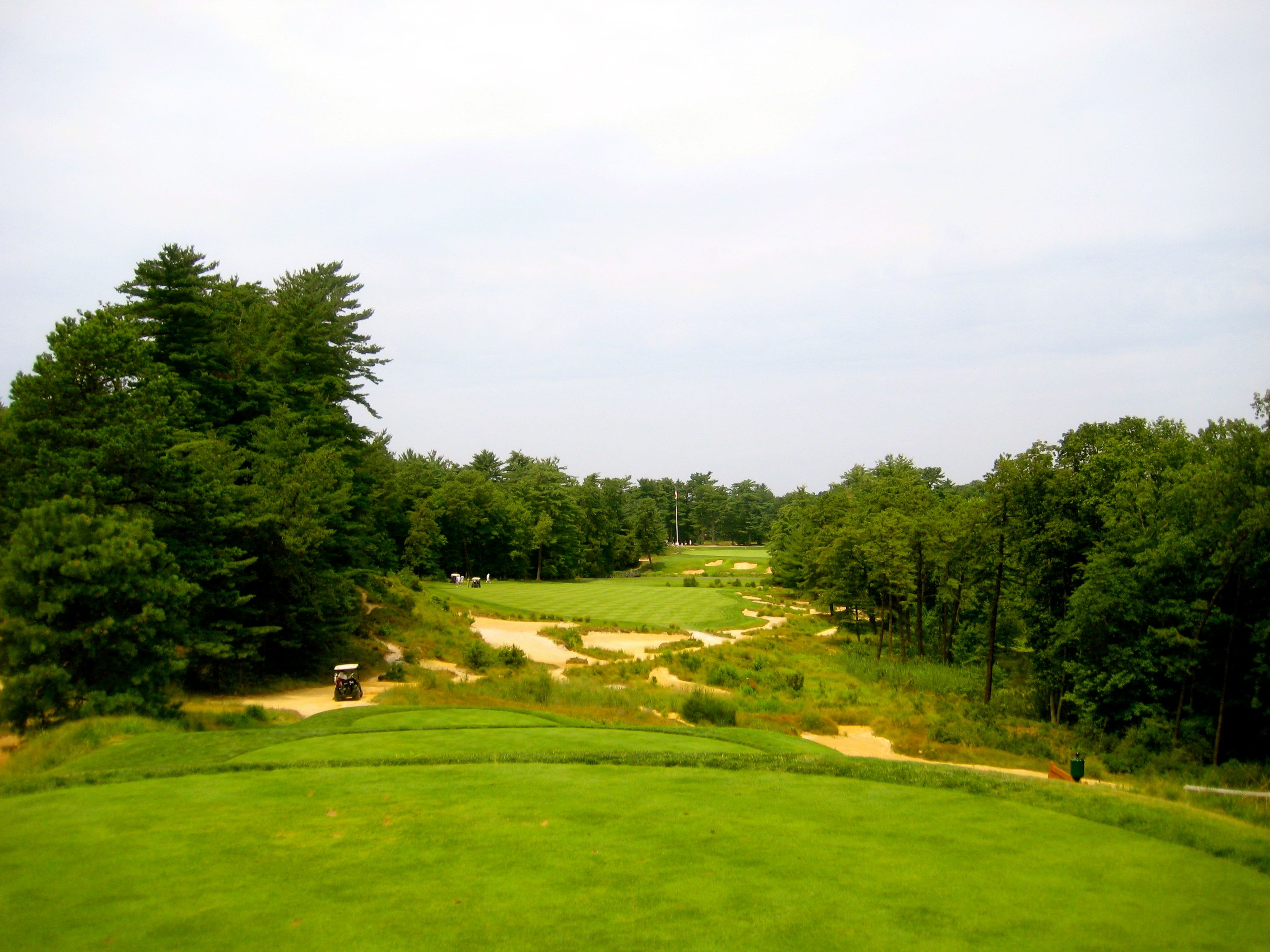18th Hole at Pine Valley Golf Club, Clementon, NJ. Brings ...