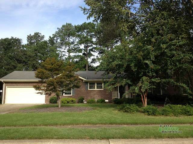 Country Club Hills Subdivision in Jacksonville, NC