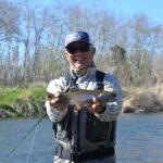 Fishing Pine Creek Paradise Valley Mt