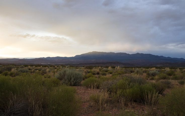 View of the Pine Valley Mountains from Hurricane Utah [OC ...