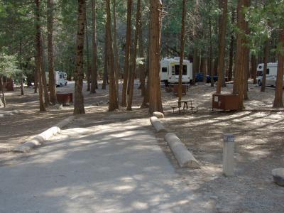 Upper Pines Campground—Yosemite Valley—Site 132
