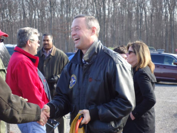 Governor O'Malley Picks Christmas Tree From Local Farm ...