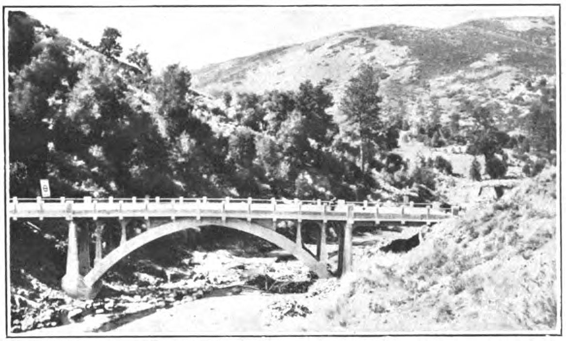 Bridgehunter.com | Pine Valley Creek Bridge