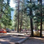 Upper Pines Campground Yosemite Valley Ca