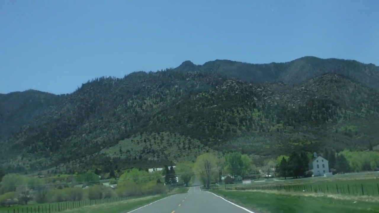 The Road into Pine Valley Utah - YouTube
