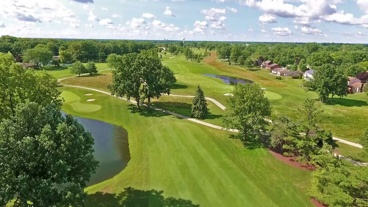 Pine Valley Country Club - Hole #14 Overview - YouTube