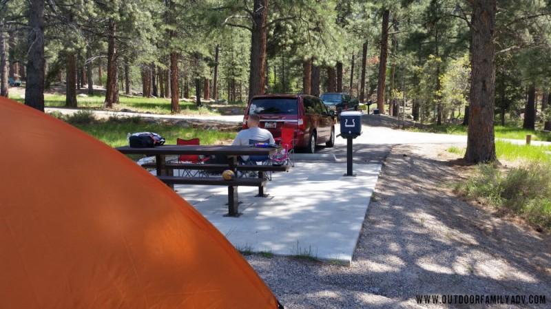 Ebenezer Bryce Campground Dixie National Forest - Cedar ...