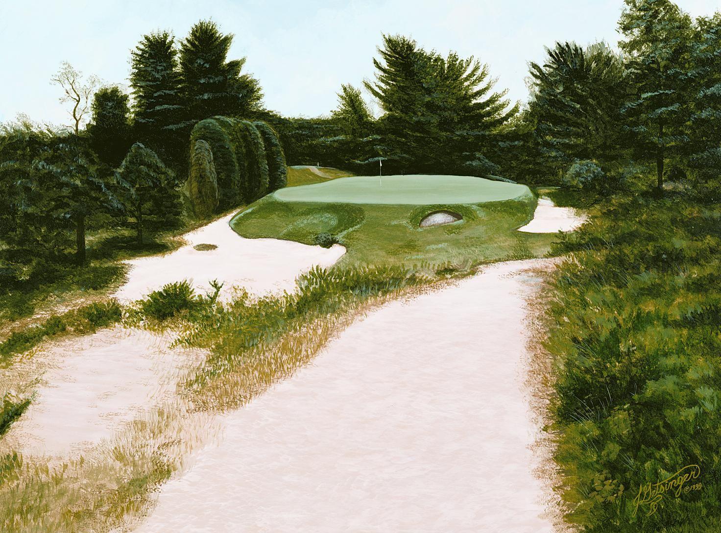 Pin by J Getsinger Art Studio on GOLF - Pine Valley | Pine ...