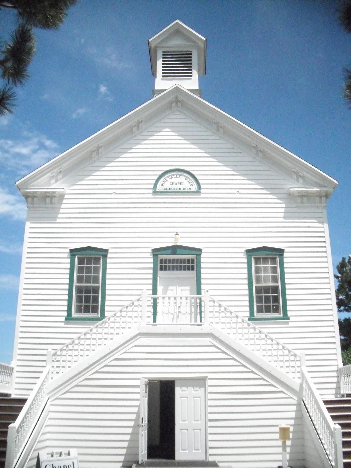 Historic LDS Architecture: Pine Valley Branch