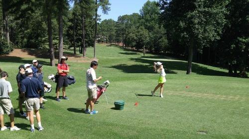 Nike Junior Golf Camp, Pinewild Country Club of Pinehurst
