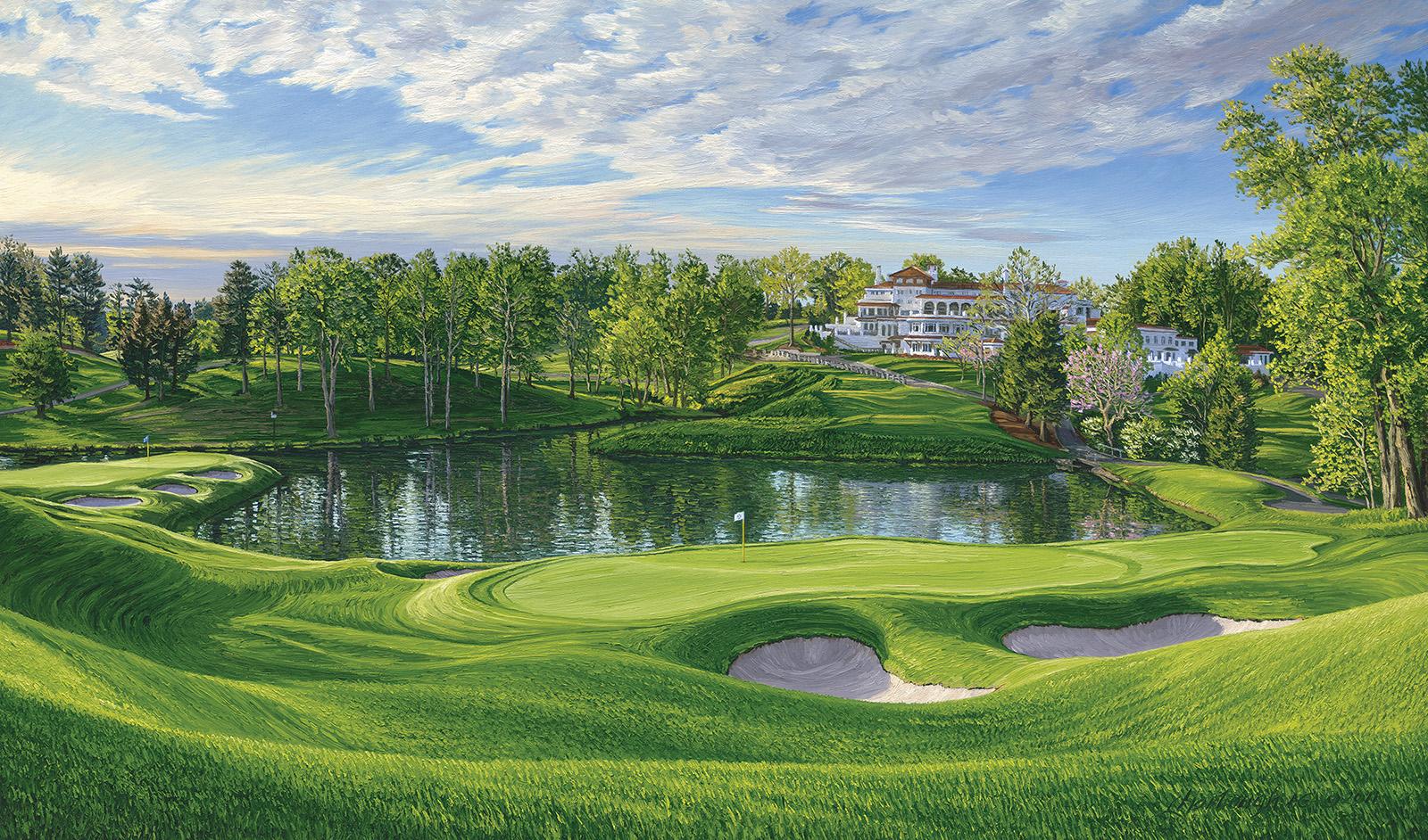 Linda Hartough Golf Landscapes   Home