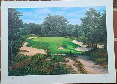 Pine Valley Golf Club - 10th Hole Poster Print by Richard ...